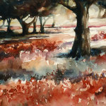 """""""Coquelicots"""" Format 40 x 50"""