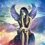 Kunstdruck Engel