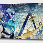 Kunstdruck auf Leinwand Fantasy / Science Fiction
