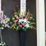 お洒落スタンド花 10,000円税別、豊川市