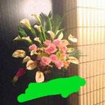 カッコよくオシャレなスタンド花 15,000円税別~、豊川市