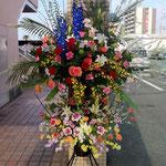 豪華スタンド花二段 30,000円税別 、豊川市