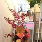 8,000円税別、開店祝、アレンジメント、豊川市、花屋