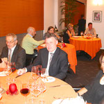 Nachtessen bei Didier de Courten in Sierre
