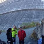 Besuch der Staumauer Grande Dixence
