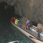 Besuch Lac-souterrain in St-Léonard