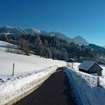 Winterlandschaft bei Hinang