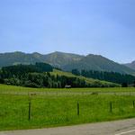 Sonnenköpfe und Rubihorn oberhalb von Hinang