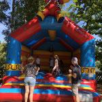 Firmensommerfest mit Hüpfburg für die Kinder