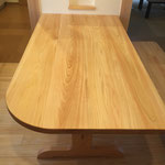 テーブルダイニング テーブル クルミのテーブル ひのきのテーブル ウォールナットのテーブル 半円のテーブル カウンターテーブル 栃のテーブル 一枚板のテーブル  おしゃれなテーブル  おすすめ 人気  ウォールナット  マホガニー  セミオーダーテーブル  木製 テーブル ヒノキ 無垢材のテーブル 会議用テーブル 丸い座卓 オーダーテーブル