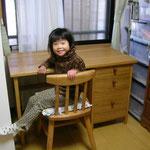 楢の学習机 ならの学習机 岐阜県 加茂郡 川辺町 家具工房ウッドスケッチ ウッドスケッチ