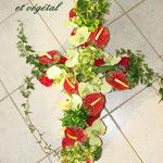 Croix intemporel et végétal