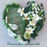 Coeur en fleur intemporelle