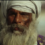 Sikh in Amritsar by Volker Abt