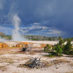 Yellowstone, Wyoming by Volker Abt
