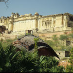Fort Amber in Jaipur by Volker Abt