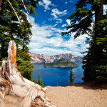 Crater Lake National Park, Oregon by Volker Abt