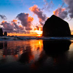 Cannon Beach, Oregon by Volker Abt