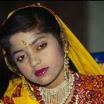 Tänzerin in Jaipur by Volker Abt