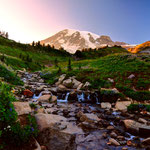 Mount Rainier National Park, Washington State by Volker Abt