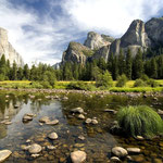 Yosemite N. P., California by Volker Abt