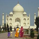 Taj Mahal by Volker Abt