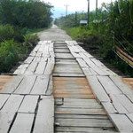 Brücke zur Esquinas Rainforest Lodge by Volker Abt