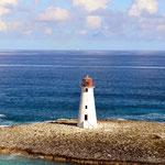 Hafeneinfahrt auf den Bahamas