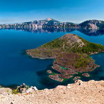 Crater Lake, Oregon by Volker Abt