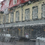 Quebec im Regen