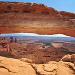 Island in the Sky, Canyonlands Utah by Volker Abt