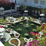 Lake Palace Hotel in Udaipur by Volker Abt