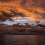 Karbische See im Sonnenuntergang