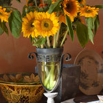 Sunflowers - Entry Le Monastère
