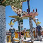 Rooftop Sombrero Wearers, Fusterlandia in Jaimanitas Cuba