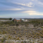 From Bariloche to Trelew - Desert Crossing Homestead at Dusk