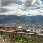 La Paz from the rim