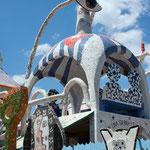 Detail, Fusterlandia in Jaimanitas Cuba