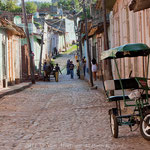 Morning Light on Cobblestones, Trinidad de Cuba