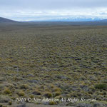 From Bariloche to Trelew - Desert Crossing - Mountains in the Distance