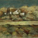 Kloster auf Kreta - 50x65cm