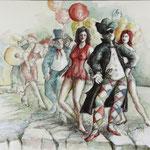 Comedia Del Arte - 50x65cm