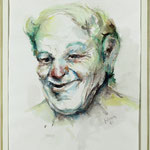 """Detail aus dem """"Homerischen Gelächter"""" - 50x65cm"""