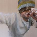 Da Boas I 2013 I Öl/Bleistift auf Leinwand I 110x140 cm