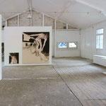 """Ausstellungsansicht """"bad"""" I 2014 I Kulturort Badstrasse8 Fürth"""