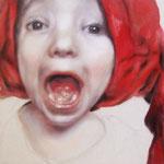Muggemä I 2008 I Öl/Bleistift auf Leinwand I 38x42 cm