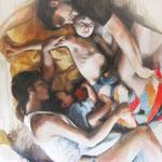 Holy 01 I 2009 I Öl auf Leinwand I 200x170 cm