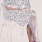 Bei Muttern I 2007 I Öl/Bleistift/Marker auf Leinwand I 29x22 cm