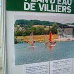 Plage Baignade canoë et Kayak,voile, pêche, promenade Plan d'eau de Villiers sur loir