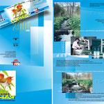 2000 | макеты и печать афиши, буклета, этикетки